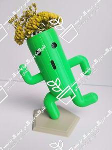گلدان پلاستیکی فانتزی