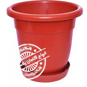 گلدان پلاستیکی گل سرخ
