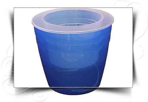 گلدان پلاستیکی خود آبیار