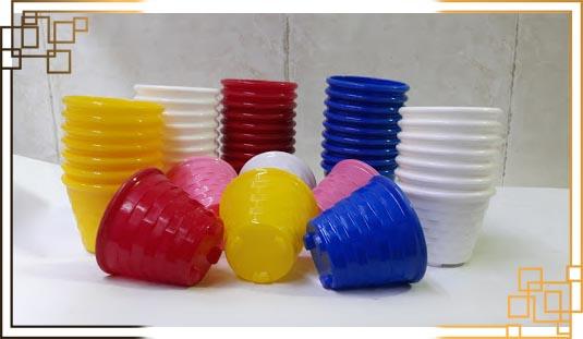 گلدان پلاستیکی کاکتوس