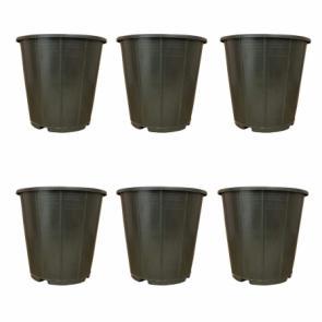 گلدان پلاستیکی سطلی
